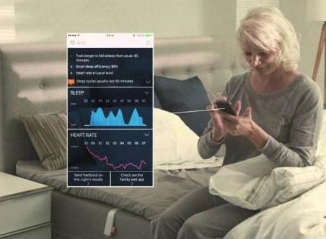 睡眠监测器与晶振一起帮助用户调整睡眠质量
