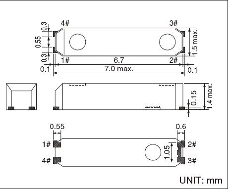 精工晶振,贴片晶振,ssp-t7-f晶振,贴片无源晶振