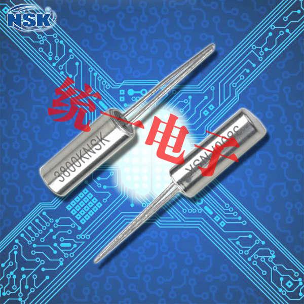 津绽晶振,圆柱晶振,NXF 3-9晶振