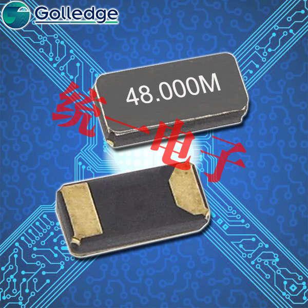 Golledge晶振,贴片晶振,CC7A晶振,石英晶体谐振器
