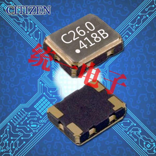 有源晶振,温补晶振,西铁城晶振,CSX325T晶振