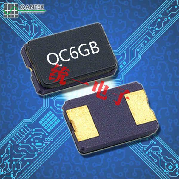 QANTEK晶振,贴片晶振,QC6GB晶振