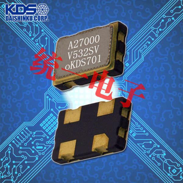 KDS晶振,压控温补晶振,DSA535SC晶振,1XTQ12800UBA晶振