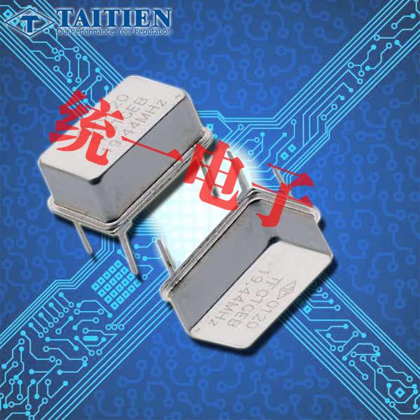 泰艺晶振,插件晶振,TF晶振,TFETBCJANF-10.000000晶振