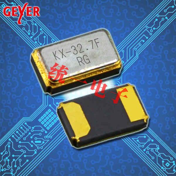 GEYER晶振,石英贴片晶振,KX-327FT晶体