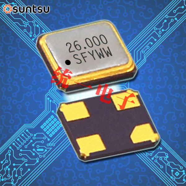 SUNTSU晶振,VC-TCXO振荡器,STC22K温补晶振