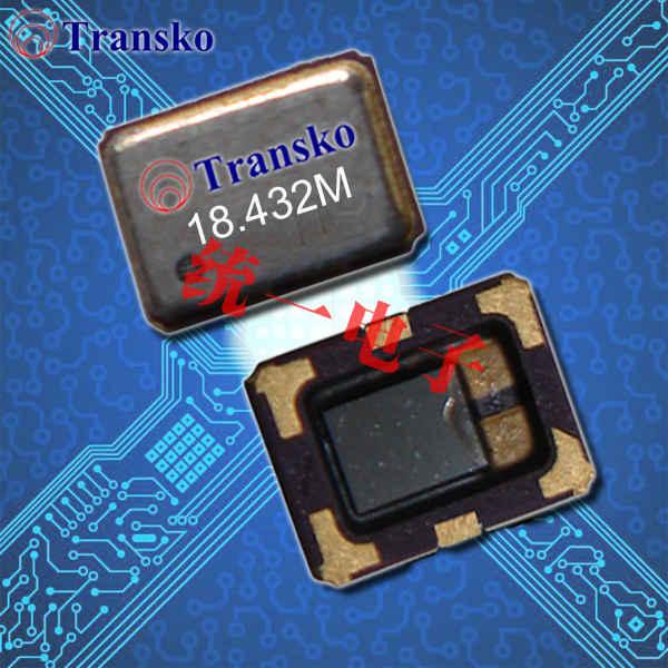 Transko晶振,低电压VC-TCXO晶振,TX-U温补振荡器