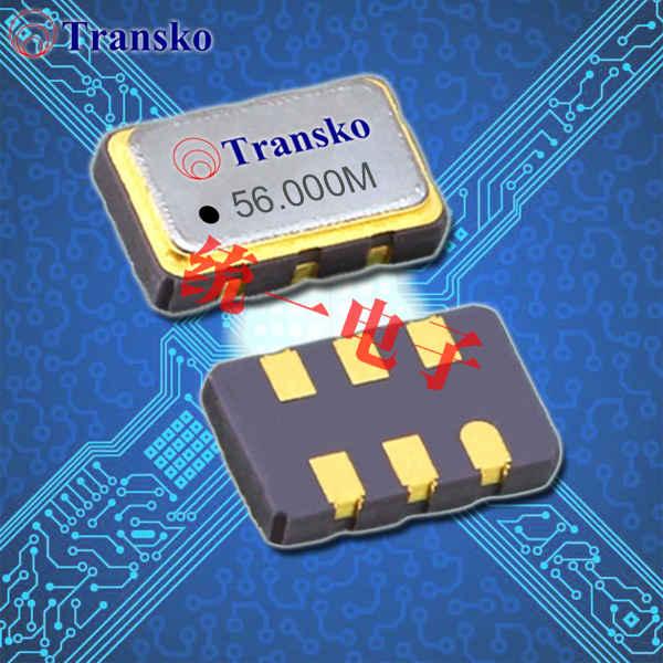 Transko晶振,耐高温晶振,TSMV5压控石英晶体振荡器