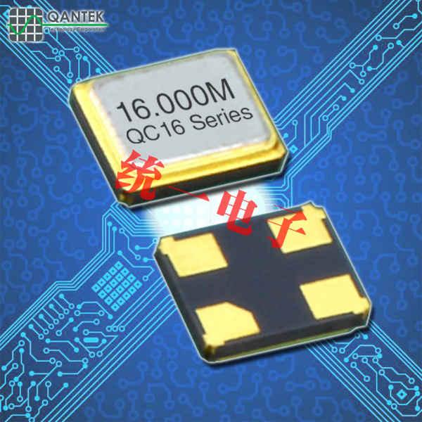 QANTEK晶振,贴片无源晶振,QC20晶体