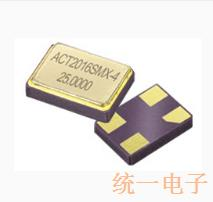 ACT晶振,环保晶体,2016-SMX-4晶振
